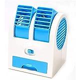 Refrigeración humidificador y purificador Aire acondicionado- Personal Mini espacio del refrigerador de aire, aire acondicionado portátil, 3 en 1 ventilador de mesa USB for la Oficina de Nueva prueba