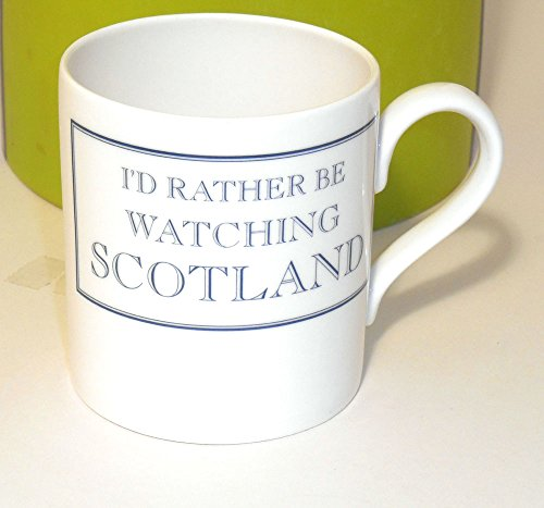 I 'd Rather Be Watching Schottland Tasse