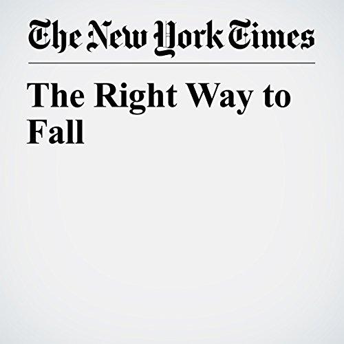 The Right Way to Fall copertina