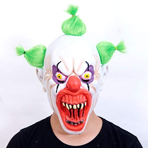 Glzcyoo Halloween Decoraties Enge Voldemort Halloween Masker Horror Clown Joker Demon Cosplay Kostuum Maskers Halloween Masker, Halloween Kostuum Party Props Maskers
