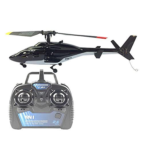 DONGKUI 2. Helicóptero De Simulación De 4Ghz Avión RC Avión De Control Remoto Eléctrico Juguete De Cuatro Canales Avión RC Recargable Resistente A Los Choques Y A Las Caídas, Adecuado Para Pri