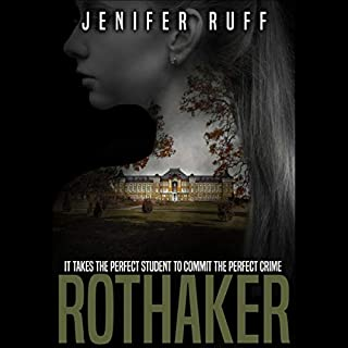 Rothaker: A Dark Psychological Suspense Novel audiobook cover art