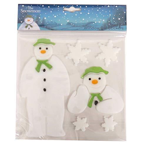 The Snowman, Autocollants de Gel de Fenêtre - Lot de 6
