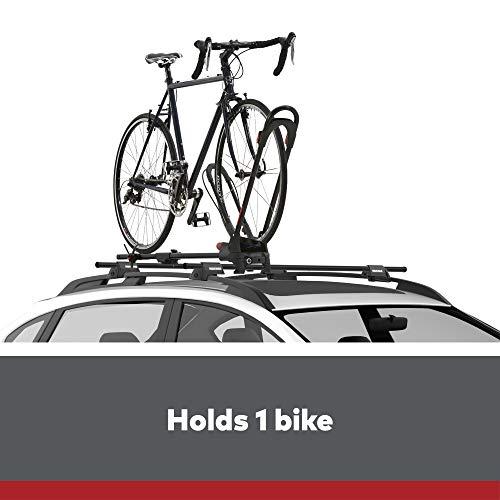 YAKIMA - FrontLoader Wheel-On Mount Upright Bike Carrier for Roof Racks, 1 Bike Capacity