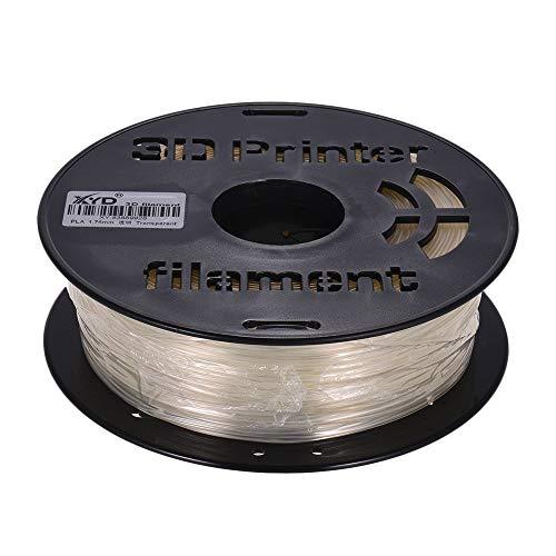 IJeilo 1KG/ Spool MAX PETG Transparant Filament 1.75mm Diameter Hoge Transparantie Afdrukmateriaal Vullingen voor 3D Printers Tekenpennen 3D printers, als reserveonderdelen verbruiksartikelen