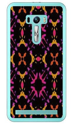 Coverfull キャンディボックス ブラック オレンジ (クリア) / for ZenFone Selfie ZD551KL/MVNOスマホ(SIMフリー端末) MASSEL-PCNT-212-M735 MASSEL-PCNT-212-M735
