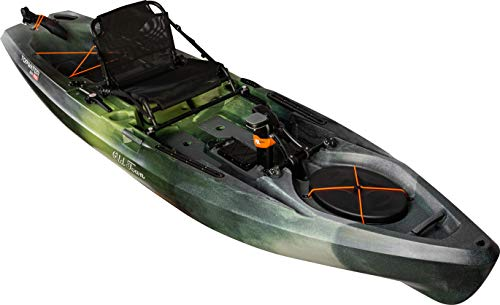 Old Town Canoes & Kayaks Topwater 120 PDL Angler Fishing Kayak (First Light), Length 12 Ft