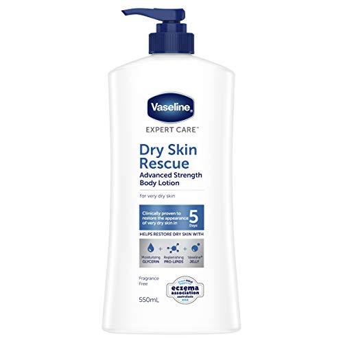 Vaseline Expert Care Body Lotion Advanced Strength Dry Skin Rescue, 550ml