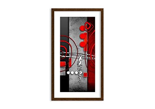 ARTTOR Cuadros Decoracion Dormitorios - Lienzos Grandes Y Pequeña - Cuadros Decoracion Salon con Marco - Temas Gráficos - Decoraciones para el Apartamento - F1MPA45x80-0599