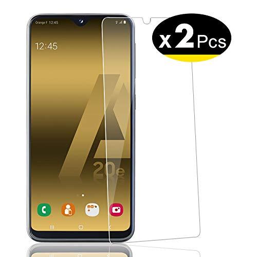NEW'C Pacco da 2 Pezzi, Pellicola Protettiva in Vetro Temperato per Samsung Galaxy A20e