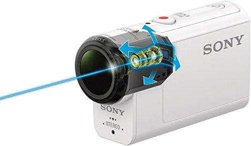 Sony HDR-AS300R Full HD Action Cam mit RM-LVR3 Live Remote Fernbedienung weiß - 4