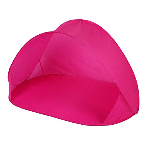 Creative Tente d'extérieur Easy up sun-shelter de pêche/plage/légère, rose vif