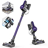 ZOKER Cordless Vacuum, Stick Vacuum with 5 Stages High Efficiency Filtration, 80000 RPM High-Speed Brushless Motor, 4 in 1 Lightweight Handheld Vacuum for Hardwood Floor Pet Hair