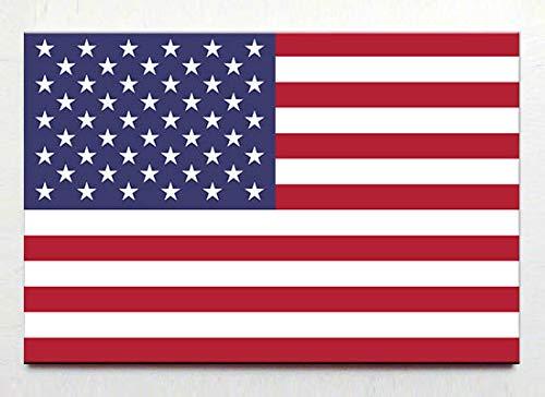Flag of USA United States of America fridge magnet Washington travel souvenir