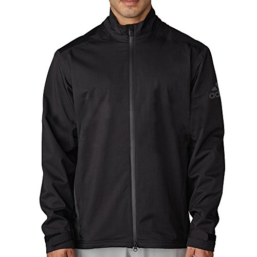 adidas Golf - Chaqueta Impermeable para Hombre, Hombre, Color All Black, tamaño XX-Large