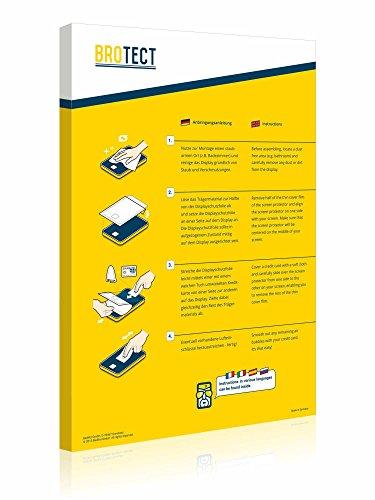 2X BROTECT HD Clear Displayschutz Schutzfolie für Huawei Ascend D2 (kristallklar, extrem Kratzfest, schmutzabweisend) - 3