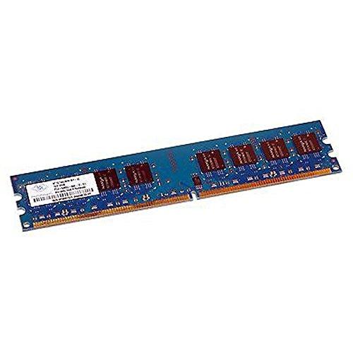 1GB RAM Nanya nt1gt64u8ha1by-3C 240-Pin DIMM DDR2PC2–5300U 667mhz 2Rx8CL5