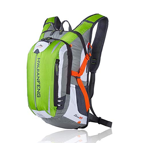 N / A Cycling Backpack Biking Daypack For Outdoor Sports Running Breathable Hydration Pack Men Women 20L-35L,Red, purple, Rose red, Fruit green, Lake blue, Orange, Black gray