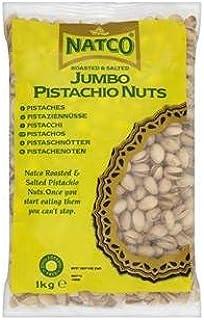 Natco Geroosterde en gezouten Jumbo Pistache Noten 1kg x Kast van 6