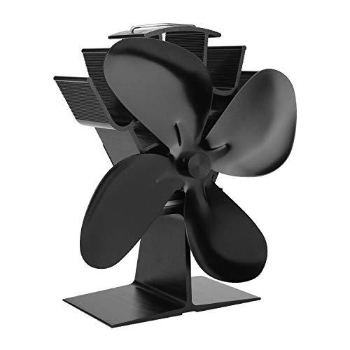 Hengda Stromloser Ventilator Kaminventilator Ofenventilator für Kamin Feuerstelle Holzöfen Öfen Hitzebetrieben (Herkömmlicher Typ)