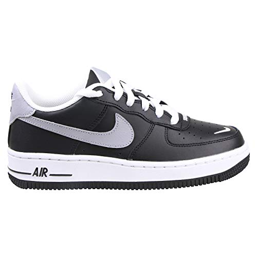 Nike Air Force 1 LV8 GS, Zapatillas de básquetbol para Niños, Black Wolf Grey White, 36.5 EU