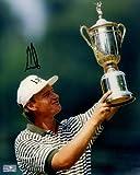 Ernie Els Autographed Golf (US Open Trophy) 8x10 Photo