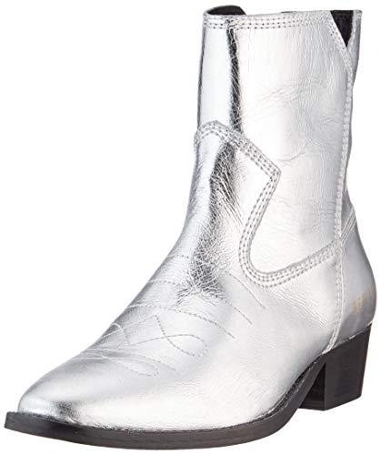 Replay Damen New Gipsy-Seaside Cowboystiefel, Silber (Silver 50), 40 EU
