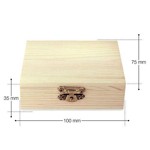 AMAVEL Whiskysteine in edler Holzbox – Standard – 9 geschmacksneutrale Kühlsteine für Whisky inkl. Aufbewahrungsbox – Wiederverwendbare Eiswürfel aus Granit – Originelle Geschenk-Idee für Männer - 7