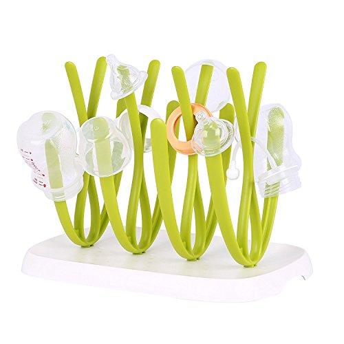 Trockenständer praktisch Trocknen für Babyflaschen und Flaschenzubehör,Flaschentrockner Abtropfständer für Schnullern und Geschirr Spülmaschinenfest