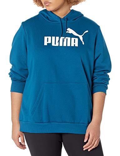 PUMA Damen Essentials Fleece Hoodie Kapuzenpullover, Digi-Blue, Medium
