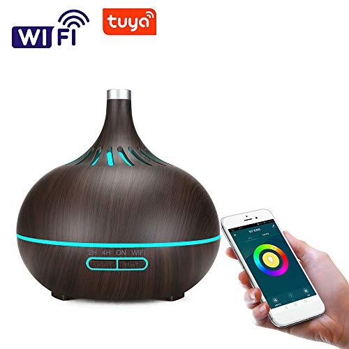 Rrunzfon Humidificateur du Voiture avec Chargeur USB diffuseur dAroma Huile Essentielle Brouillard Frais