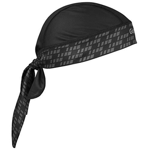 GripGrab Bandana Kopfbedeckungen, Schwarz, Onesize
