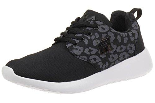 Fila Alva Low W Damen Run Laufschuh Running Women Sneakers schwarz, Schuhgröße:37 EU