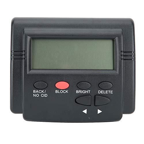 Bloqueador de Llamadas para teléfonos fijos, teléfonos Premium con Bloqueo de Llamadas con Sistema Dual de FSK y DTMF, Dispositivo de Bloqueo de números One Touch como Llamadas automáticas y lla