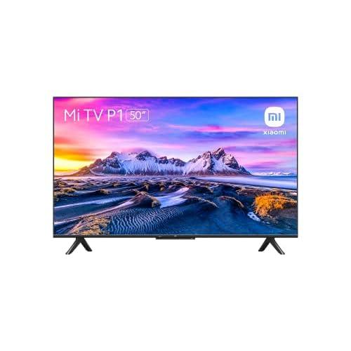 Xiaomi Mi Smart TV P1 50 Pollici, UHD, senza Cornice, Android 10.0, Dolby Vision, HDR10+,HLG,MEMC, Video e Netflix, Assistente Google, Bluetooth, HDMI 2.1, USB, Nero, Modello 2021