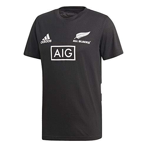 adidas AB Perf tee Camiseta, Hombre, Negro/Blanco, L