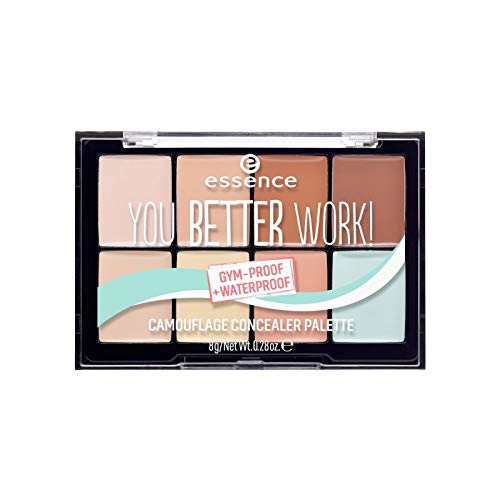 essence - Concealerpalette - you better work! camouflage concealer palette