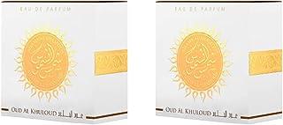 Lattafa Unisex Shams Al Shamoos Oud Al Khuloud Eau de Perfume, 35 ml + 35 ml
