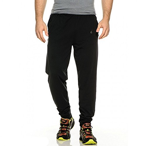 ASICS Men's Knit Pant, X-Large, Performance Black (0904)