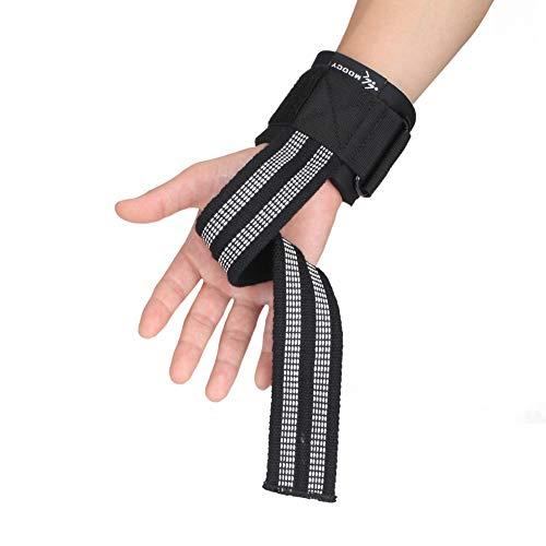 Realizzato in nylon di alta qualità e materiali SBR, facile da indossare, resistente e di lunga durata. La cinghia può alleviare efficacemente gli strumenti di frizione e i palmi delle mani, prevenire il sudore e lo scivolamento, proteggere i polsi e...