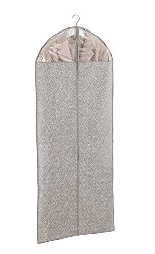 WENKO Kleidersack Balance - Kleiderhülle, sicherer Schutz, Aufbewahrung für Anzüge und Kleider, Polypropylen, 60 x 150 cm, Taupe