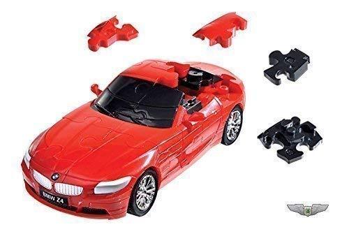 Original BMW Z4 Coupe 3D Puzzle 1:32 rot