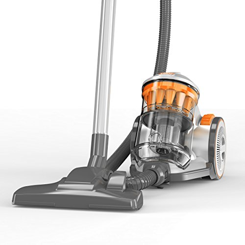 Vax Air Compact - Aspirapolvere senza sacchetto, grigio, 2 L