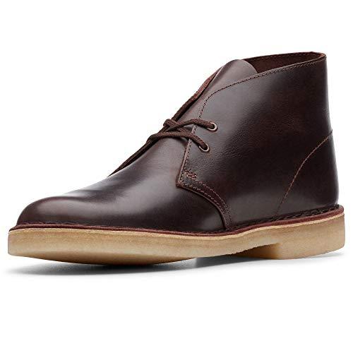 Clarks Originals Herren Kurzschaft Stiefel Desert Boots, Braun (Chestnut Leather Chestnut Leather), 42 EU