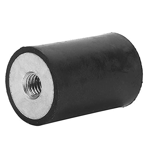 4 piezas Soportes de goma para amortiguador de golpes, Bloque silencioso antivibración, Amortiguador de vibración antichoque, para instrumentación, grupos electrógenos diesel(DD20 * 30 M6)