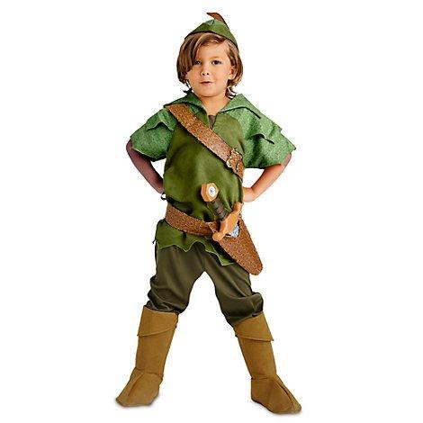 Disney Peter Pan - Kostüm für Kinder - Alter 5 / 6 Jahre, original Kostüm,