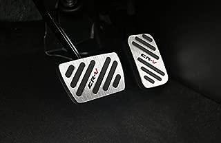 Aluminum No Drill Sport Fuel Brake at Pedal Cover pad Trim for Honda CRV 2017 2018 2019