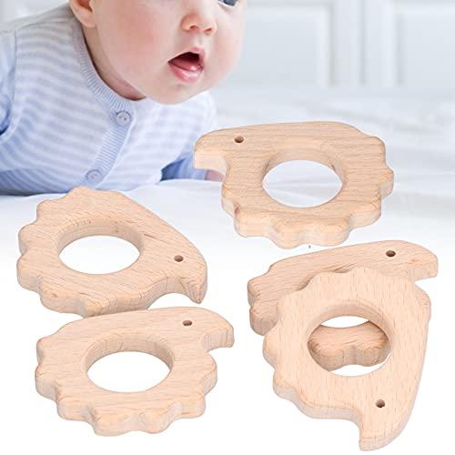 Colgante de Bricolaje, mordedor de bebé Ayuda al bebé a Sentir el Mundo Ayuda a Reducir la incomodidad de la mordedura de Dientes de bebé para Collares de decoración de Bricolaje