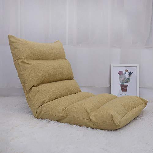 Goldenla 6 Fauler Sofastuhl, Einzel-Klappbett als Sitzstuhl Erkerfenster Stuhl Bodenstuhl (Color : B)