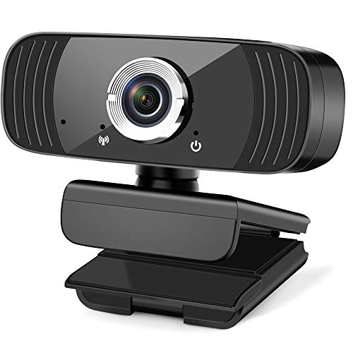 HD 1080P Webcam with Microphone, Beauty Effect, USB Desktop Laptop Computer Web Camera, Plug and Play, for Windows Mac OS, for Video Streaming, Conference, Gaming, Online Classes